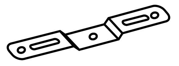 Surface Mounting Brackets, Stainless Steel (For V2, DW Vaporlumes) (Pair)