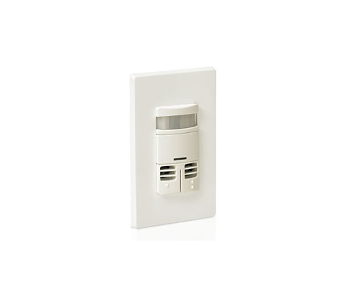 Wall switch sensor, multi-tech dual switch, 120/277VAC