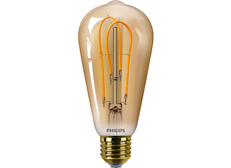 CLA LEDBulb SP ND 5-25W E27 GOLD ST64 CL