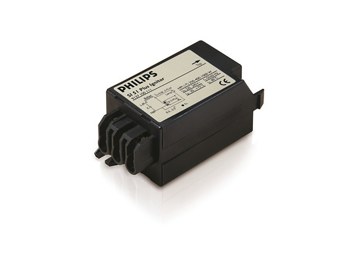 Electronic parallel ignitor for HID lamp circuits