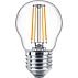 светодиодный Диммируемая свечевидная лампа