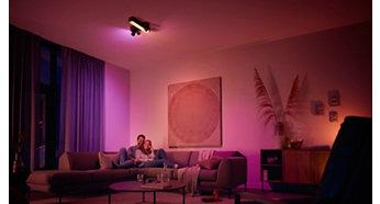 Funkcionális és hangulatvilágítás egyetlen lámpatestben