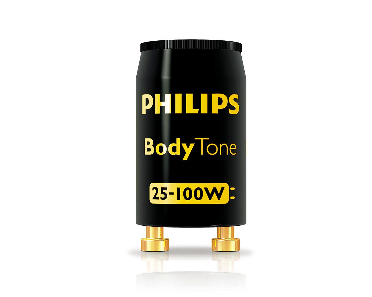 Starters voor Philips bruiningslampen: een complete reeks gemakkelijk te installeren en milieuvriendelijke starters voor bruiningslampen die werken op een conventioneel elektromagnetische VSA