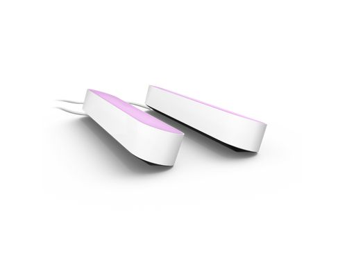 Hue White and Colour Ambiance Play light bar double pack