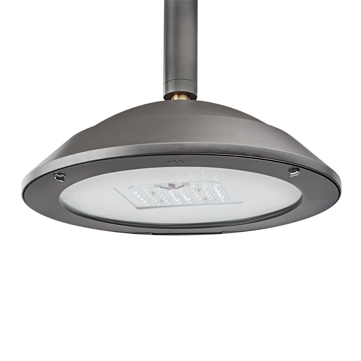 Design minimalista para uma luminária versátil