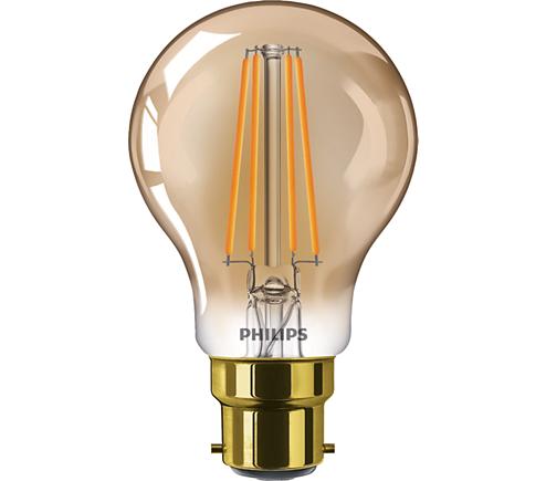 LED classic 50W A60 B22 FL GOLD D SRT4