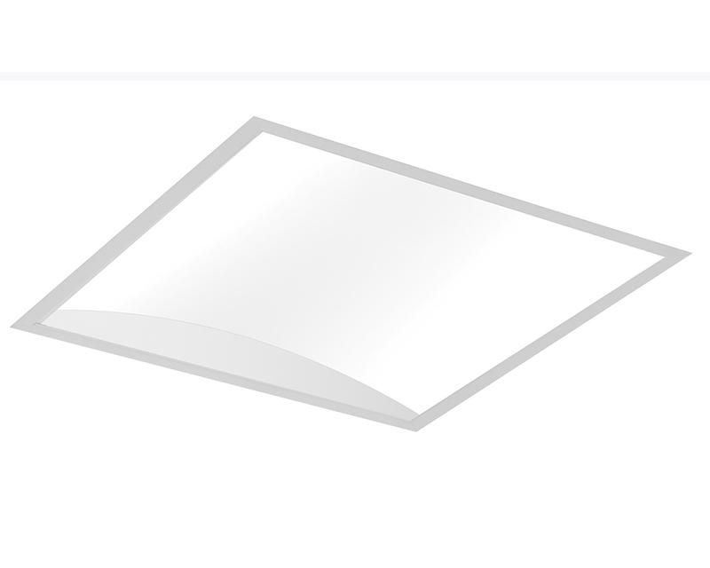 ArcForm 2'x2' LED, 4400 lm, 3000/3500/4000K Direct, Curved Acrylic Mesooptics Lens