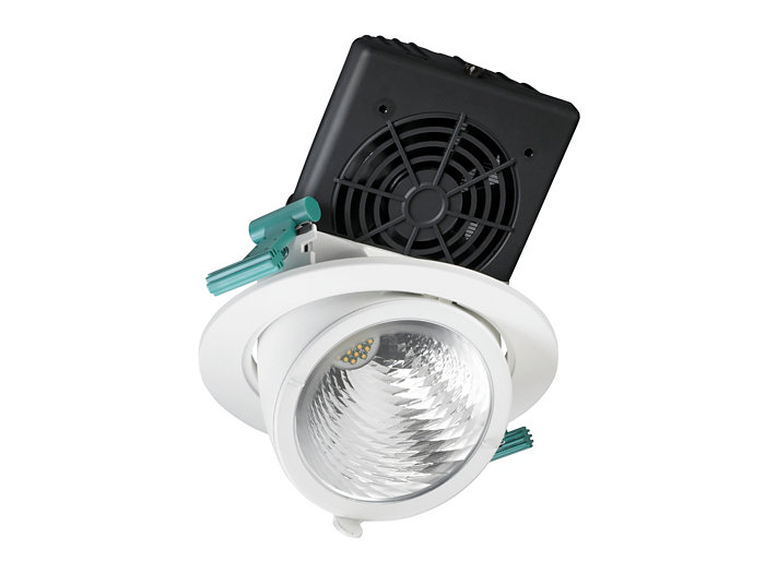 LuxSpace Accent elbow downlight, performance-version