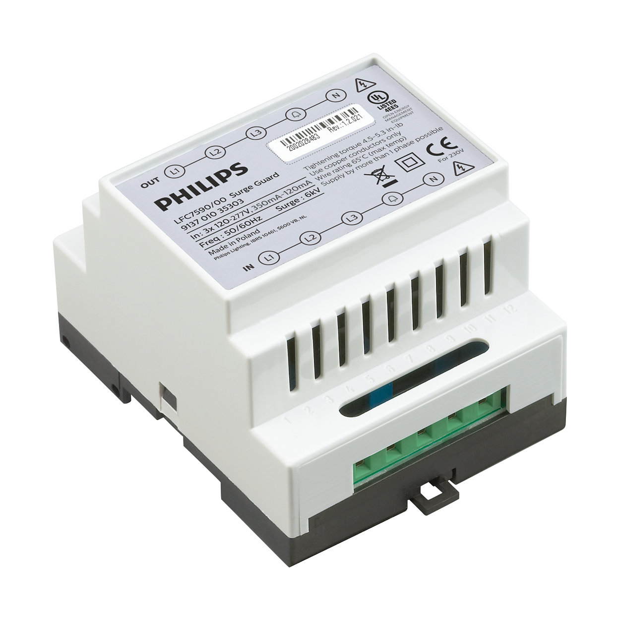 Solution puissante de surveillance de réseau et de contrôle de l'éclairage de groupe extérieur