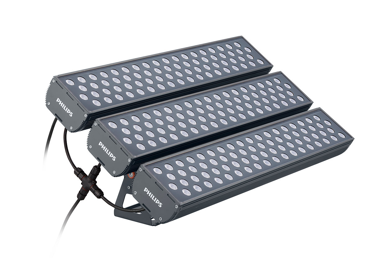 High Power Floodlight with True Modularity.