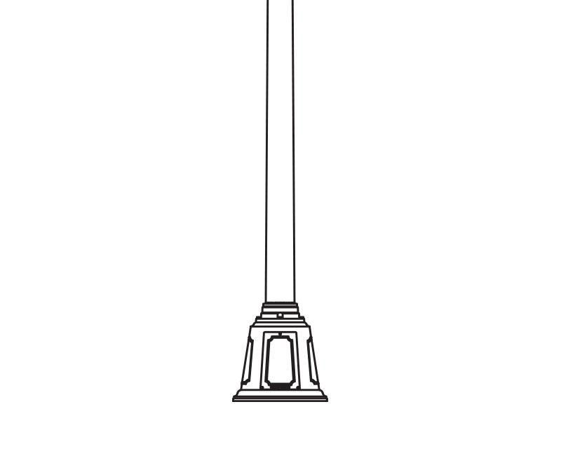 Anchor Base Post (379-)