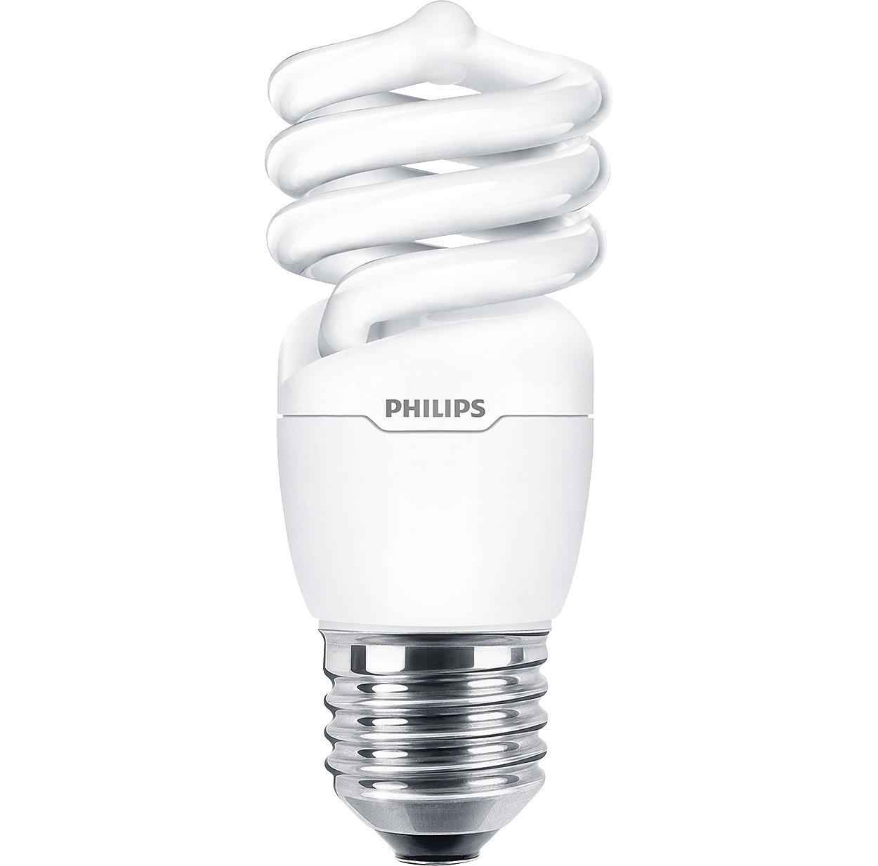 Lámpara de bajo consumo con forma de espiral decorativa y de calidad confiable