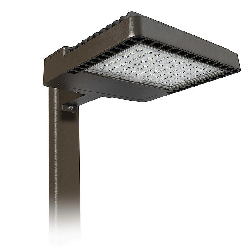 Area Light, 150W, 4000K, Type 5, 120-277V, Arm Mount, Bronze
