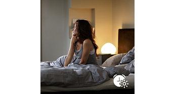 Spríjemnite si prebúdzanie a zaspávanie svetlom