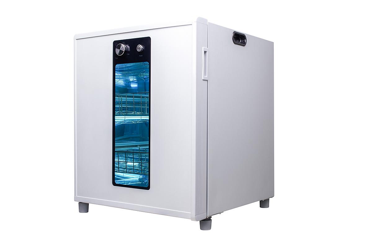 UV-C disinfection chamber