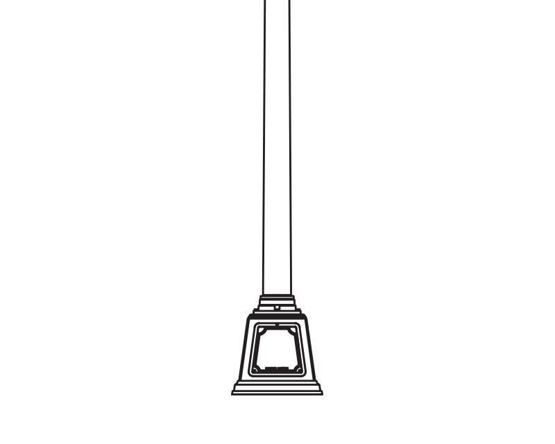 Anchor Base Post (377-)