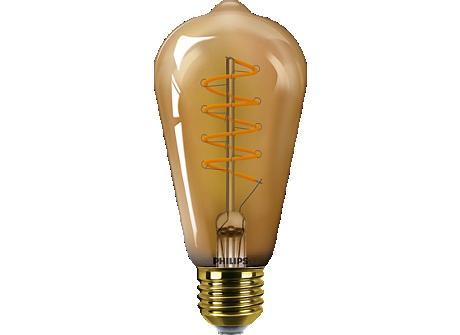 LED classic 5.5W ST64 E27GOLD SP D 1PF/6