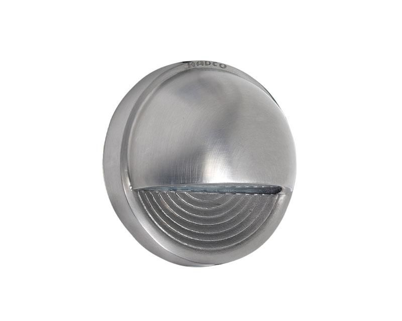 Deck Light, Stainless Steel, Round Step, 2W LED, 12V
