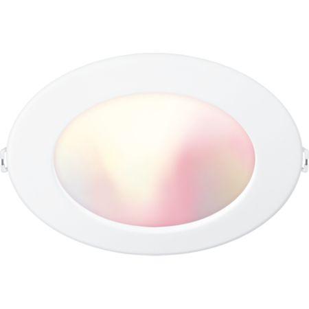 Refletor embutido e luminária