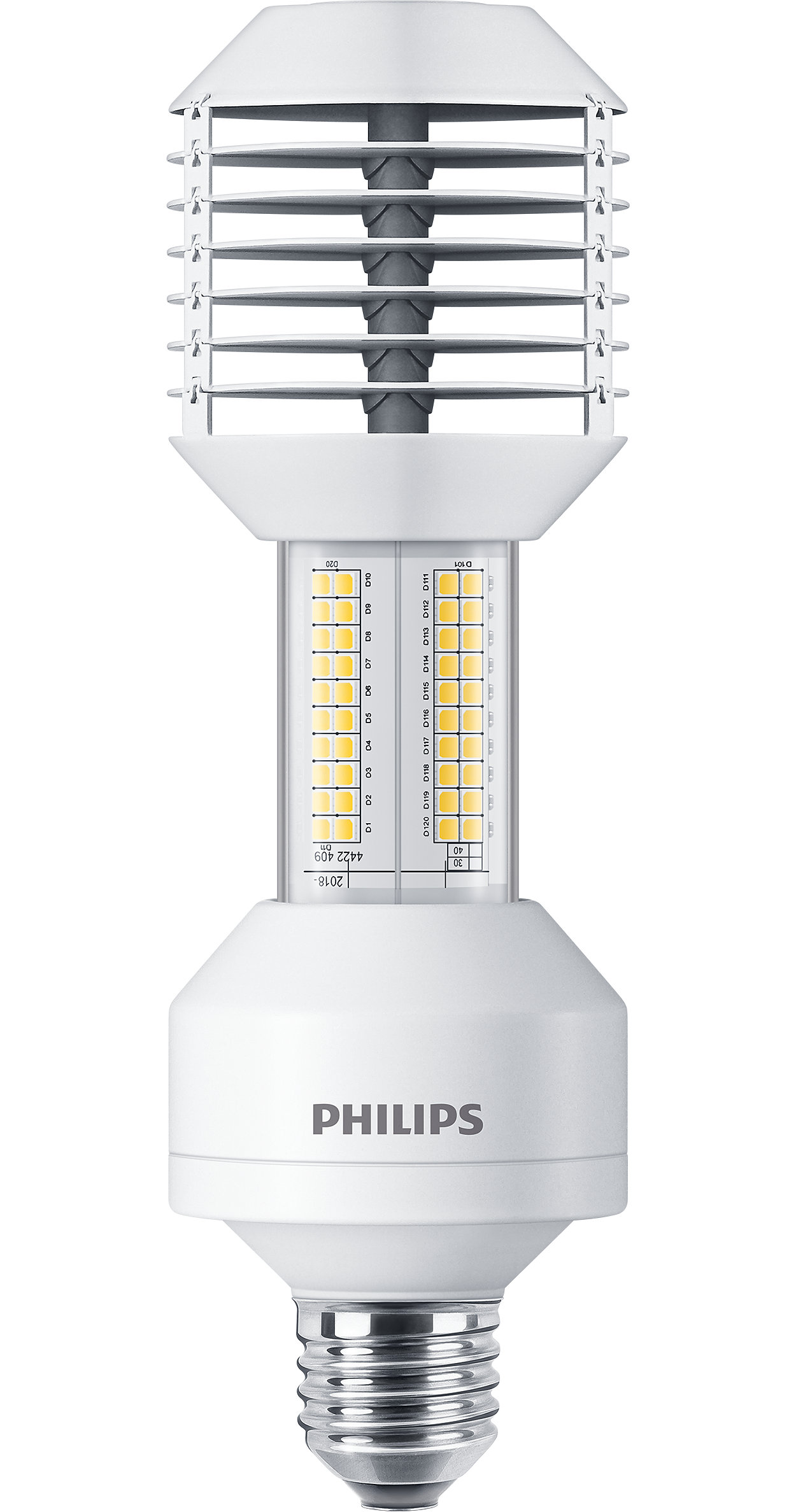 The best LED solution for High-Intensity Discharge (HID) lamp replacement