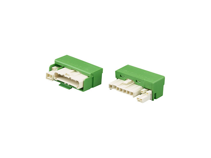 Electrical connector 9-pole male and female, 4 sets