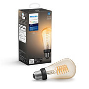 Hue White 1-pack ST19 E26 Filament Edison