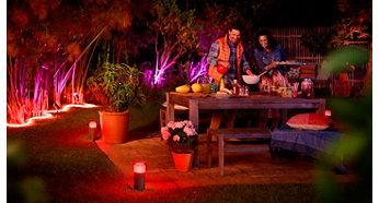 Ομορφύνετε την αυλή σας με φωτισμό εξωτερικών χώρων