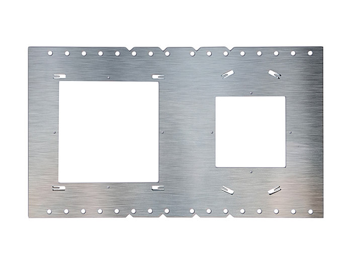 "LIGHTOLIER Flat DL 4"" & 6"" Sq NC plate"