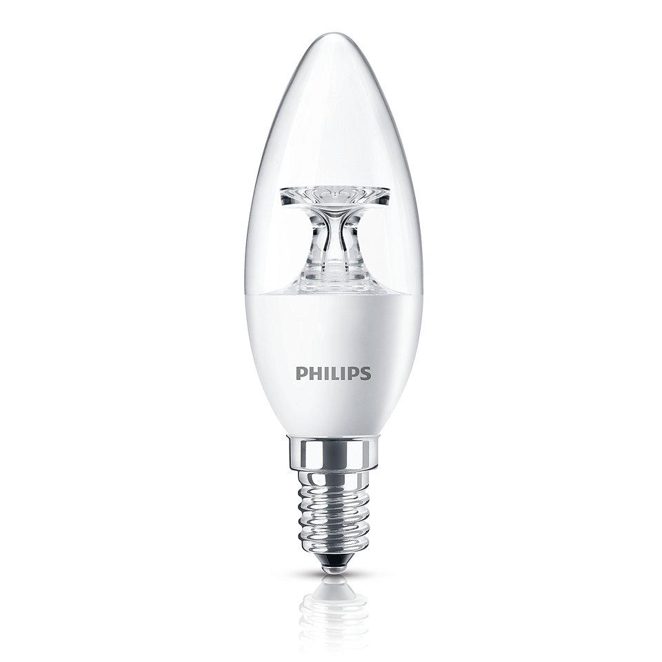 светодиодный Li - LED, свечевидная