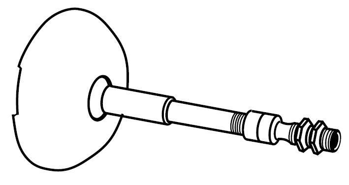 42 Degree Tip Swivel Canopy & Bottom Swivel (To Meet CA Standards) (One)