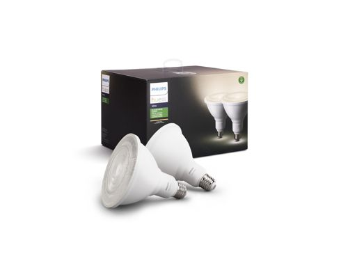 Hue White Dual pack PAR38 outdoor