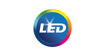LED incorporado como parte do sistema