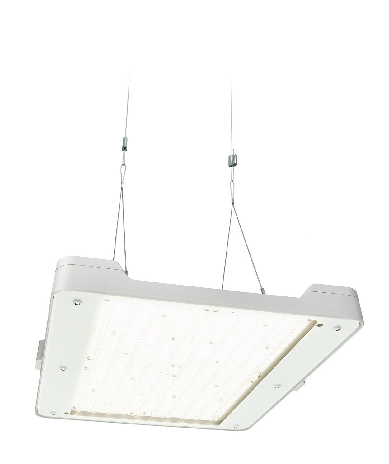 GentleSpace gen3: adaptable high-bay lighting offering high-efficiency and connectivity options to lighting systems and software applications.
