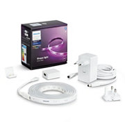 Hue White & Color Ambiance Lightstrip Plus Basis-Set 2 Meter