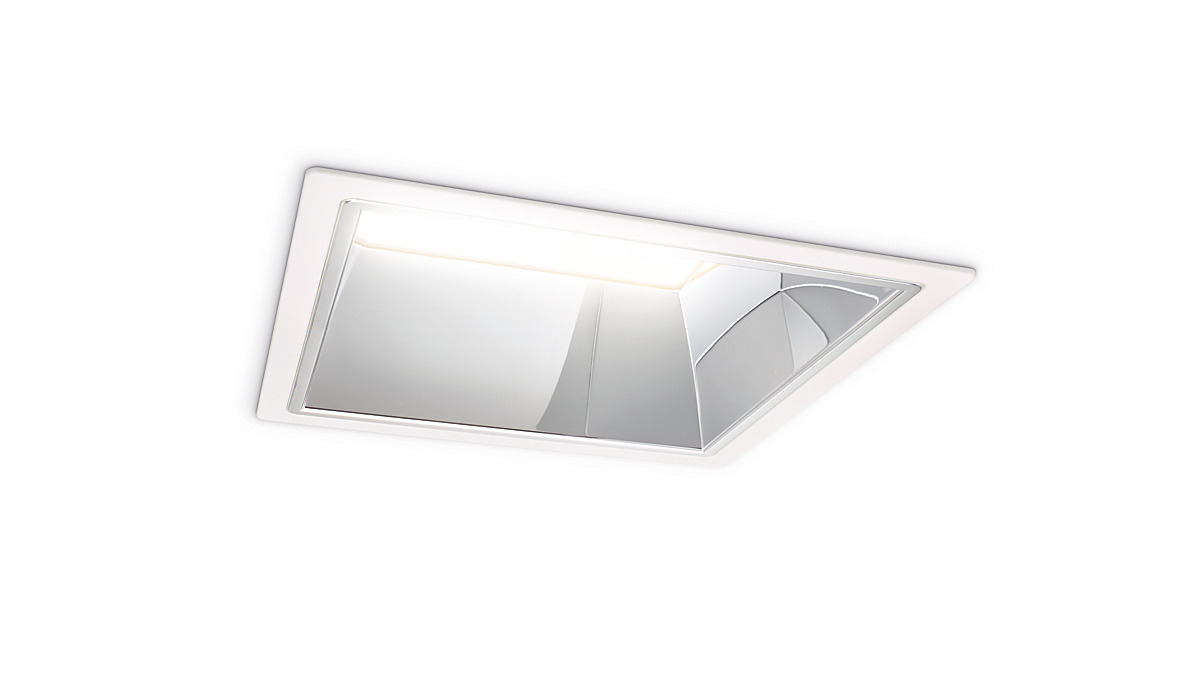 LuxSpace square, recessed