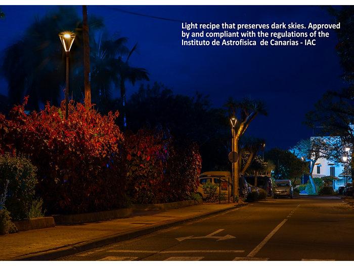 Image Light recipe to preserve dark skies