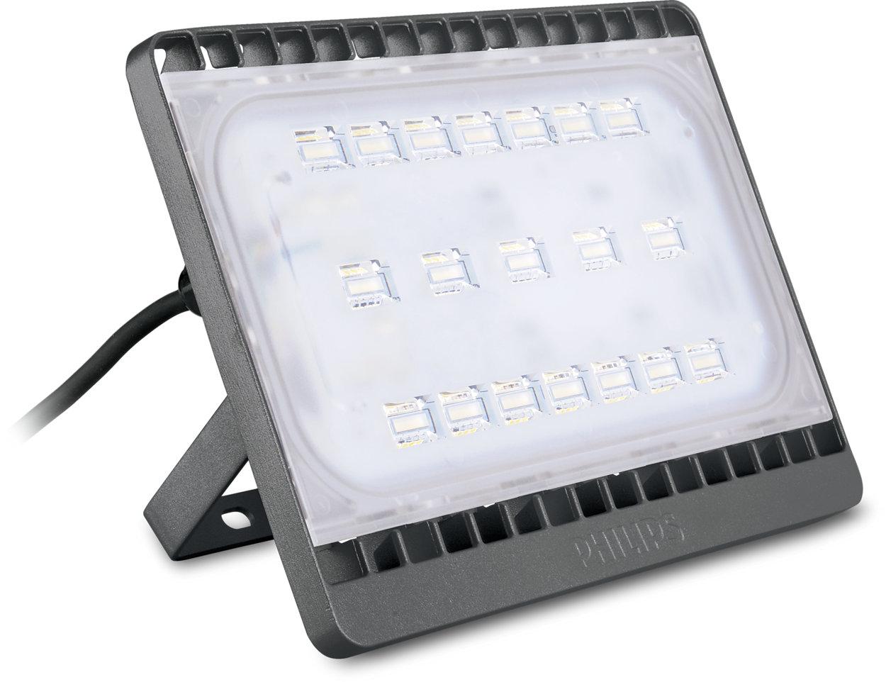 可靠的高性能 LED 泛光灯