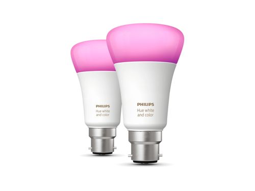 Hue White and Colour Ambiance 2-pack B22