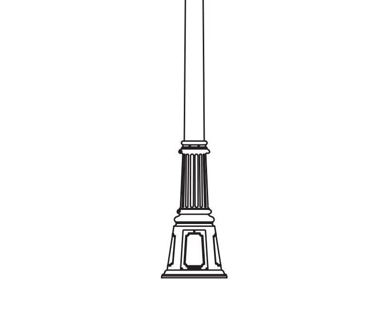 Anchor Base Post (329-)
