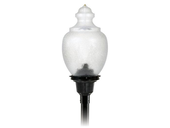 Teardrop, 48 LED, Type II, Long Acrylic Globe, 3000K