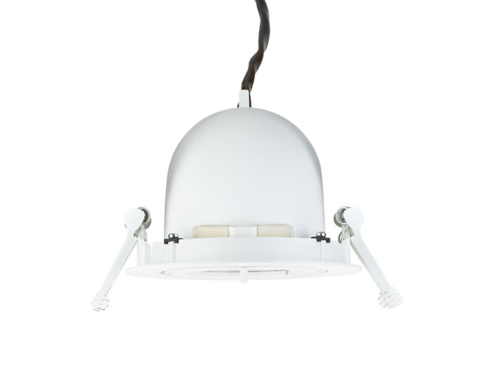 LuxSpace Compact Elbow, fully recessed, back face
