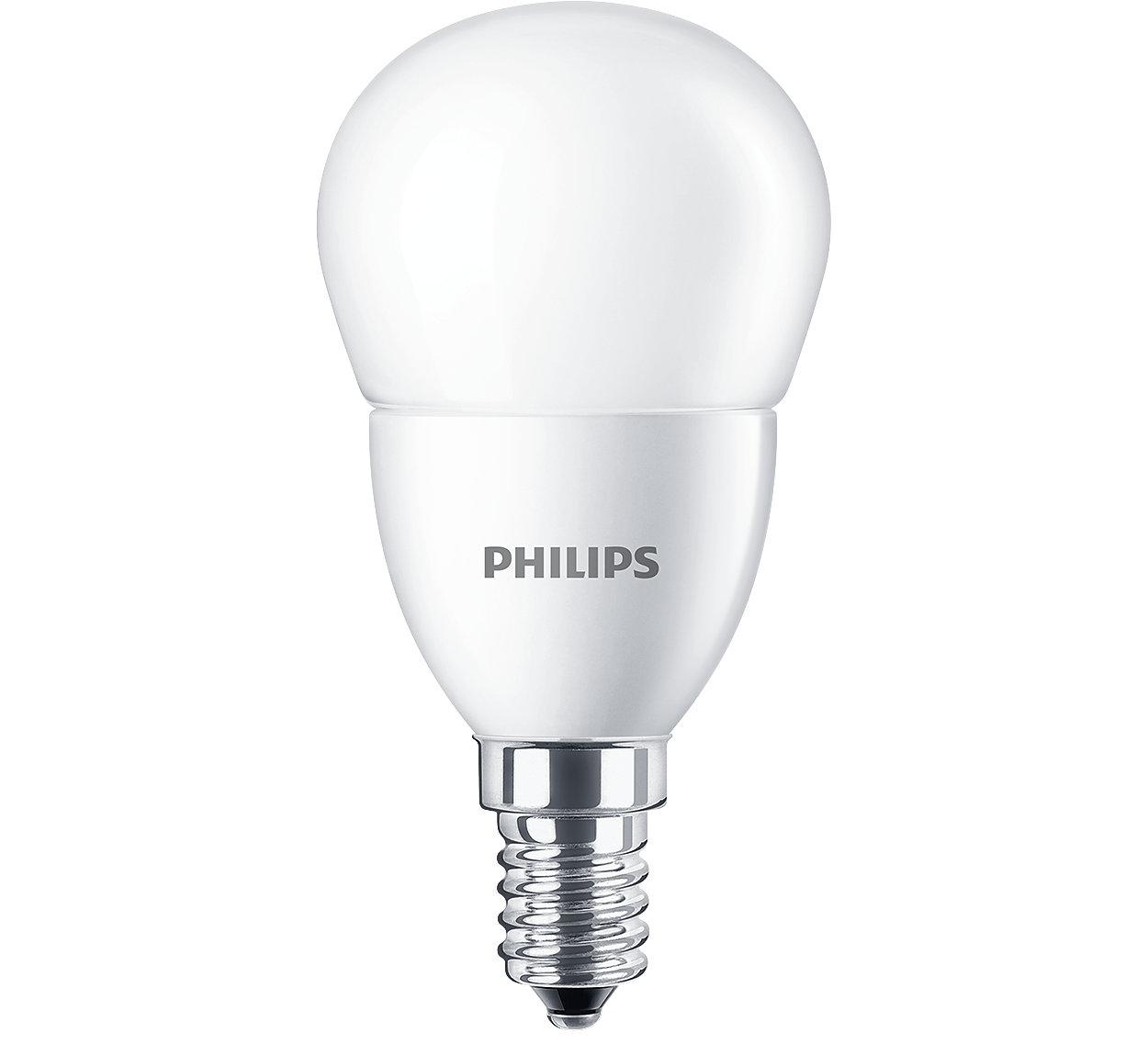 Philips CorePro Velas y Esféricas LED