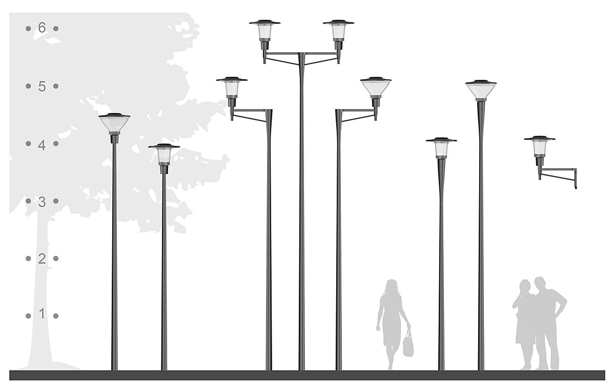 CityCharm masten en uithouders