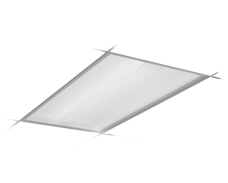 2x4, 2 Lamp F54T5HO, Diffuer (Ribbed) Center Diffuser