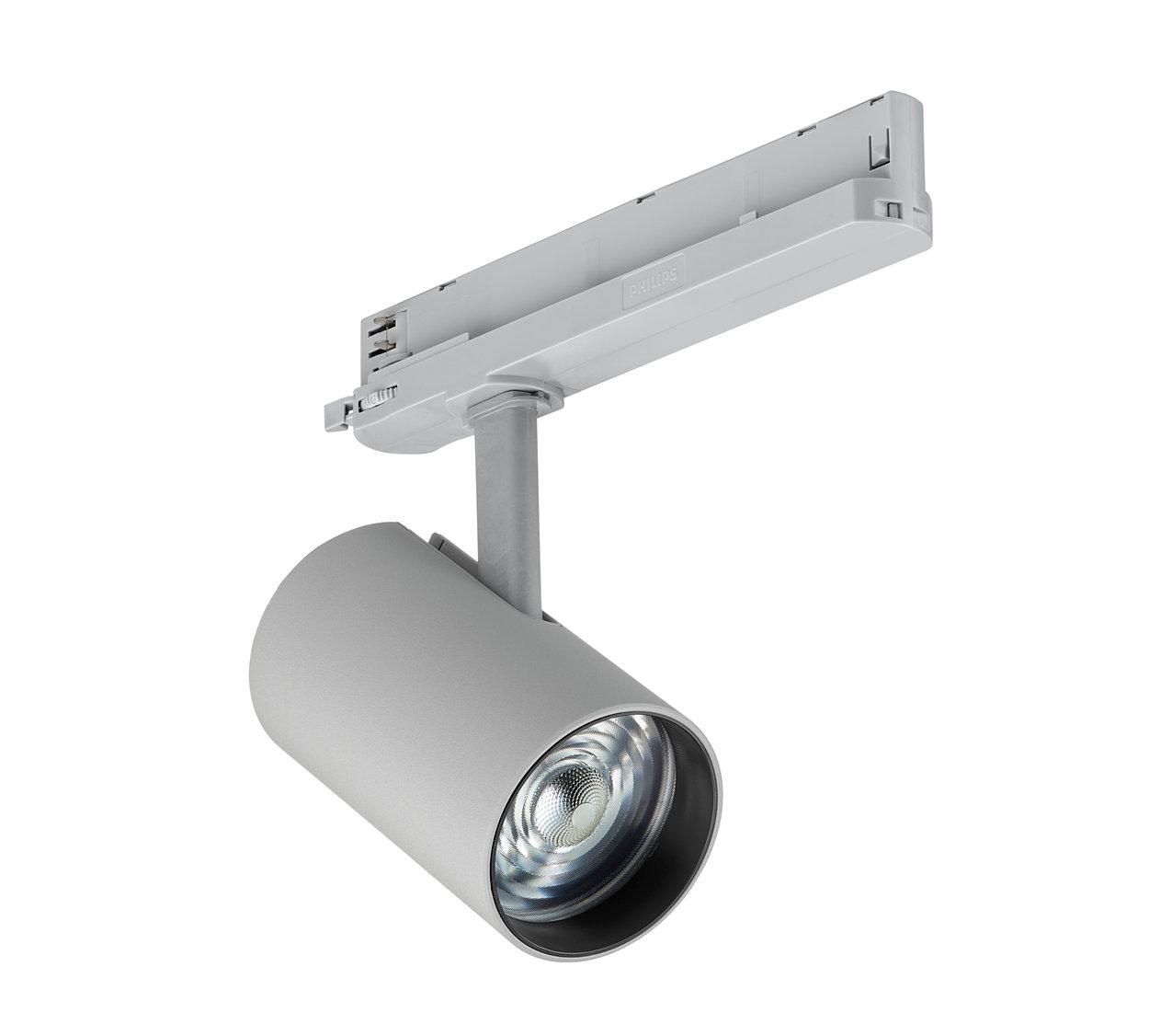 La migliore qualità di luce in lampadine spot miniaturizzate, per i negozi di moda di tutto il mondo