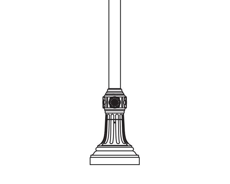 Anchor Base Post (780-)