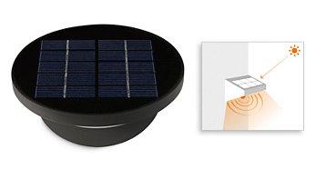 Ενσωματωμένος ηλιακός συλλέκτης