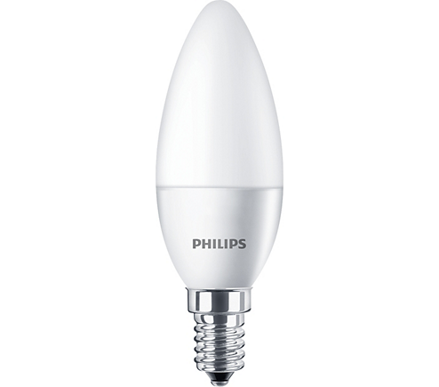 LED candle/luster CorePro candle ND 5.5-40W E14 827 B35 FR