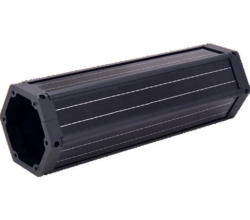 140Wp Vertical Panel Subsystem Vmpp 36V