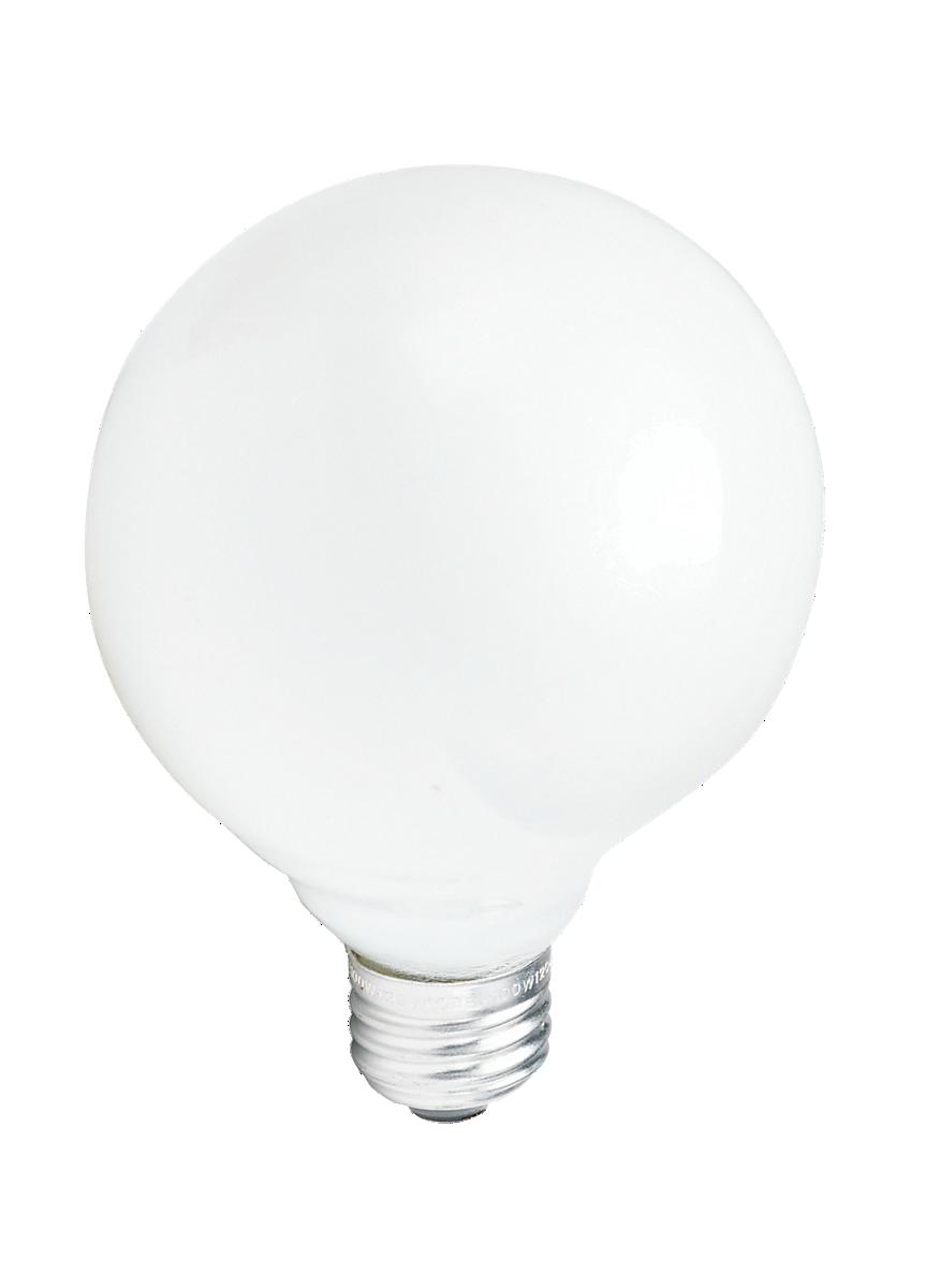 Duramax Incandescent Decorative Globe Light Bulb in White